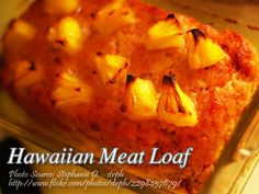 A simple meat loaf recipe that can also be served on special occasions. There is also no need for any special kitchen equipment to cook this dish. Meatloaf Recipes, Pork Recipes, Cooking Recipes, Recipies, Filipino Recipes, Hawaiian Recipes, Philippines Food, Pork Dishes, What To Cook