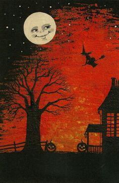 Vintage halloween cards 95