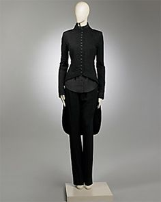 Best of Haute Macabre - Lace Tailcost by L'Wren Scott 2008