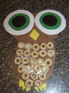 Crafting the Alphabet: Letter O