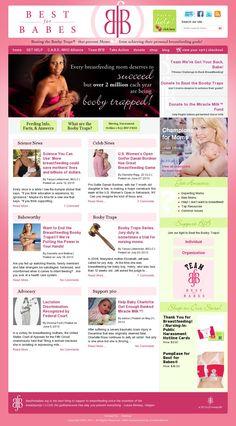 Breastfeeding website resource: Best for Babes