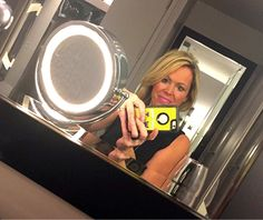 TODAY: Donna Bozzo takes a selfie before the show