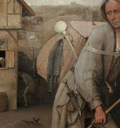 'Le Colporteur' aka 'The Pedlar' (detail), by Hieronymus Bosch (circa 1450–1516)