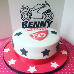 Ducati themed birthday for Kenny's 50th birthday