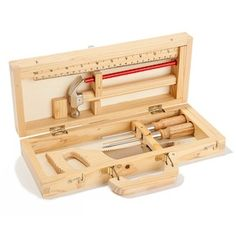 Moulin Roty Wooden Tool Box  @ acorntoyshop.com