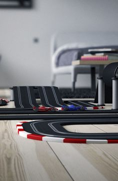 ENJOY - Racing car track by Benoit Challand, via Behance