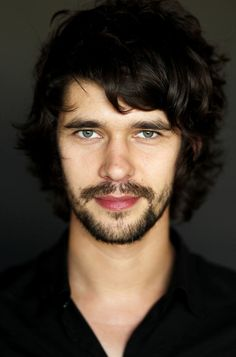ben whishaw WITH A BEARD. granted, not a great beard, but I can forgive him.