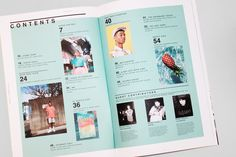 Lazy Oaf Magazine: Issue 3 Out Now - layout print - Lazy Oaf Magazine: Issue 3 Out Now Editorial Design Layouts, Magazine Layout Design, Book Design Layout, Print Layout, Graphic Design Layouts, Magazine Layouts, Design Posters, Dissertation Layout, Contents Page Design