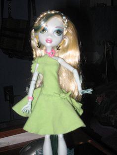 monster high doll patterns | Seaweed! - Monster High Dolls .com