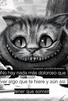Nada duele mas es la verdad Sad Quotes, Love Quotes, Inspirational Quotes, Spanish Phrases, Spanish Notes, Sad Words, Fake Friends, Sad Love, Alice In Wonderland