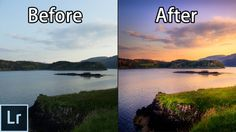 How to Create STUNNING Sunset Photos - Adobe Lightroom 6 cc Landscape Ph...