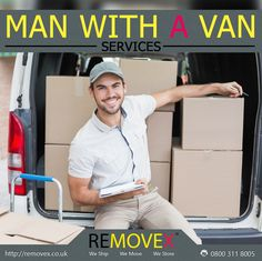 Removex offers man with a van removals service, receive your FREE quotes from our professional movers in the London UK. http://www.removex.co.uk/removex-man-with-a-van-services?utm_content=buffer2e11e&utm_medium=social&utm_source=pinterest.com&utm_campaign=buffer #movers #manwithavan #removex
