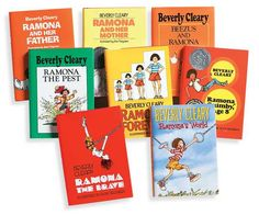 Who could not love Ramona? I read the covers off the paperbacks.