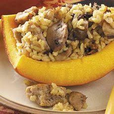 Sausage-Stuffed Pumpkins Recipe