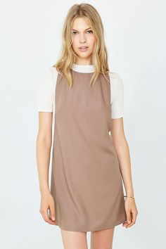 Cooperative Deep Racerback Frock Dress - Urban Outfitters