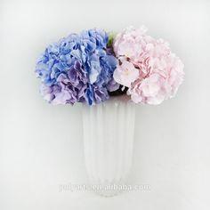 """10"""" ida. X 20"""" h jumbo hortensia bloem hoofd, aangepaste hortensia bloem, kunstmatige hortensia bloem"""