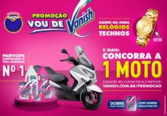 Promoção Vou de Vanish on Behance