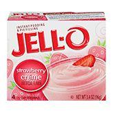 Jell-O Instant Strawberry Creme Pudding (3.4 oz.)