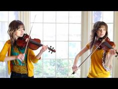 This Gal is quite amazing...I love these multi-track recordings...   Zelda Violin Duet- Lindsey Stirling