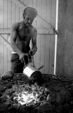 Robert Doisneau: Etameur Plan de Grasse, Juin 1969