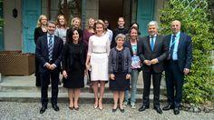 Rainha Mathilde participaram numa sessão do Conselho de Direitos Humanos das Nações Unidas em Genebra, Suíça