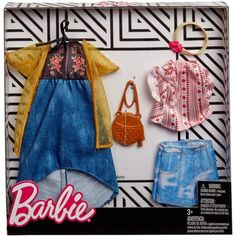 Vintage Barbie Kleidung, Vintage Barbie Clothes, Doll Clothes Barbie, Barbie Toys, Barbie Dress, 1980s Barbie, Baby Barbie, Vintage Thrift Stores, Kids Makeup