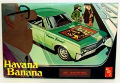 Buick Wildcat | Havana Banana | AMT kit