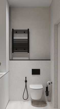 SOFIA.RESIDENCE on Behance Gray Interior, Bathroom Interior Design, Bathroom Designs, Bedroom Balcony, Tiny Bathrooms, Architecture Visualization, Bathroom Toilets, Concept Architecture, Bathroom Renovations
