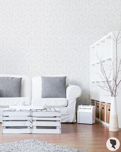 Bold Chic Cube Pattern Self Adhesive Removable Wallpaper Add Personalised Charm To Your