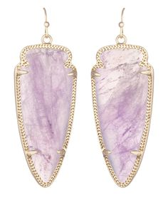 Skylar Earrings in Amethyst- Kendra Scott Jewelry.