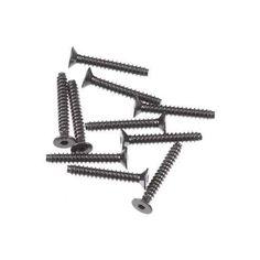 AXA0416 - Axial Hex Socket Tapping Flat Head Black M 2.6x18 mm (10) AX10 Wraith