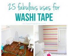 washi tape uses