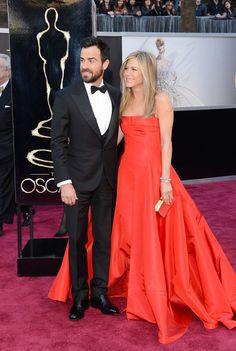 85th Annual #AcademyAwards - #JenniferAniston in #Valentino