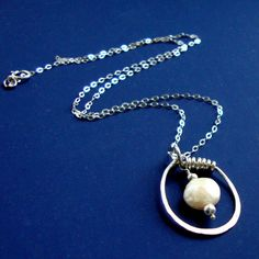 Handcrafted Sterling Silver Jewelry Necklace  by NewMorningJewelry, $35.00