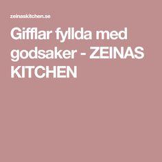 Gifflar fyllda med godsaker - ZEINAS KITCHEN