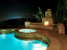 Hot tubs are the ultimate romantic feature for your home. Secluded spas and exposed outdoor tubs are great investments for couples looking to keep the love alive.
