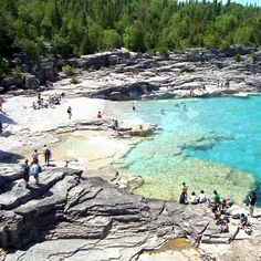 I love visiting Bruce Peninsula National Park Oh The Places You'll Go, Places To Travel, Travel Destinations, Places To Visit, Dream Vacations, Vacation Spots, Bruce Peninsula, Manitoulin Island, Ontario Travel