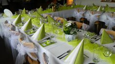 svatební stůl zelený - Hledat Googlem