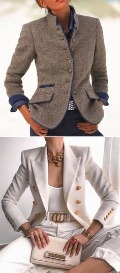 2020 Fall Jackets For Women #OfficeCoat #FallOutfits Smart Casual Work Outfit Women, Work Casual, Classy Outfits, Fall Outfits, Casual Outfits, Fashion Outfits, Sporty Fashion, Ski Fashion, Fashion Women