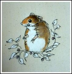 Little Harvest Mouse.... Loopy Linnet