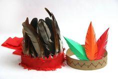 Hay una variedad de penachos en las tribus indias americanas en la historia de las Américas, pero el que más se conoce es el que tiene una pluma sostenida por una banda que rodea la cabeza. Considera estas opciones para hacer un disfraz de ...
