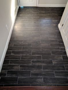 entranceway tile replacement (#QuickCrafter)
