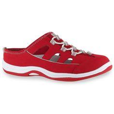 Easy Street Sport Barbara Women's Comfort Slip-On Sandals, Size: medium (6), Red
