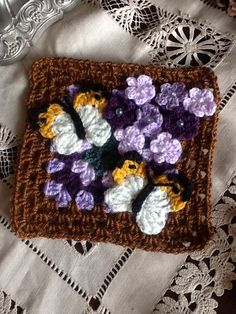 Crochet mood blanket 2014