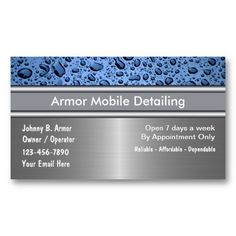 30 best auto detailing business cards images on pinterest auto auto detailing business cards reheart Gallery