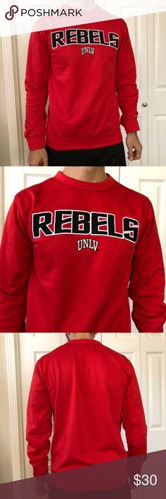 a666630f27 Champion UNLV Rebels Pullover Sweatshirt S University of Nevada Las Vegas  Paradise Home Team Performance Crew