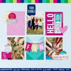 "Too Cool ~ New Elle's Studio ""Shine"" - Scrapbook.com"