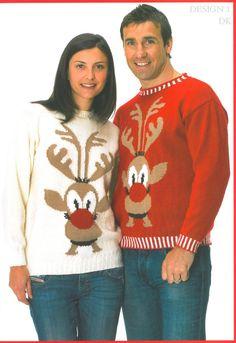 Wendy reindeer Christmas jumpers
