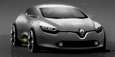 Renault clio IV sketch