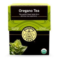Buddha Teas Oregano Tea, 18 Count (Pack of 6) -- A special product just for you to view. See it now! - Fresh Groceries